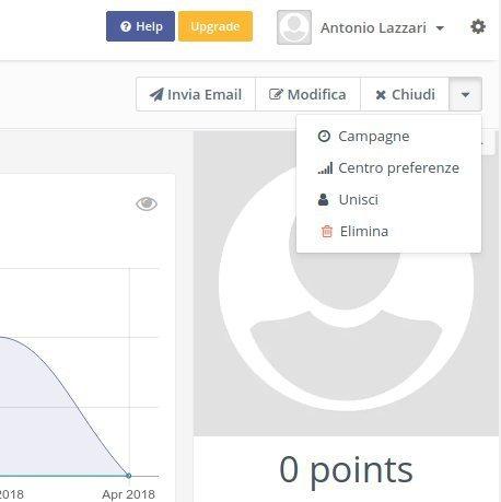 Trasparenza dei dati: il centro preferenze di Mautic