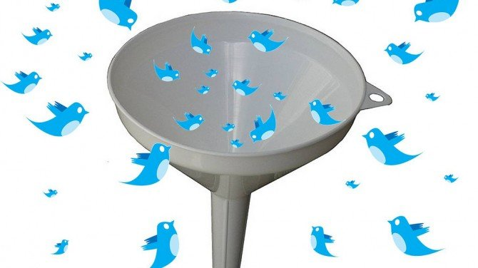 A funnel for twitter with mautic